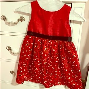 Beautiful red dress. Gymboree Size 4
